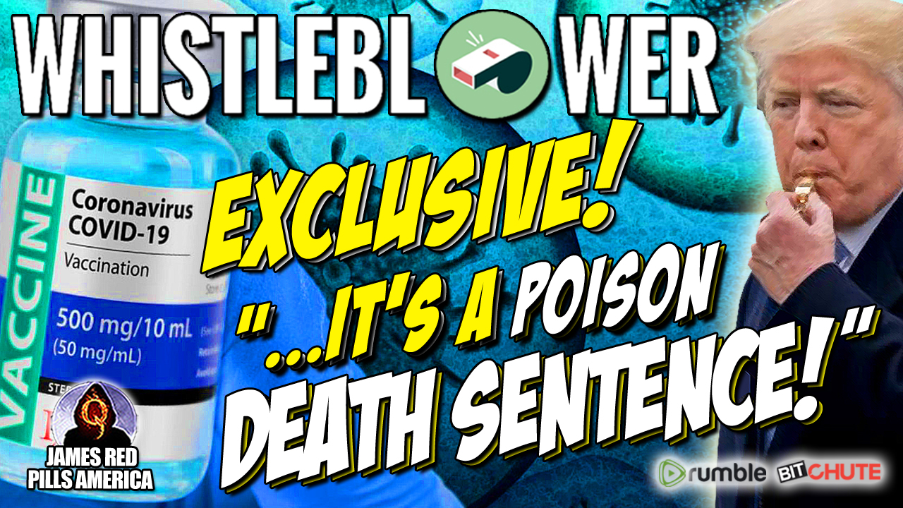 """Exclusive!  Big Pharma Whistleblower Bombshell:  """"It's An Evil Agenda Designed To Poison, Harm & Kill!"""" Must Stew Peters Video!"""
