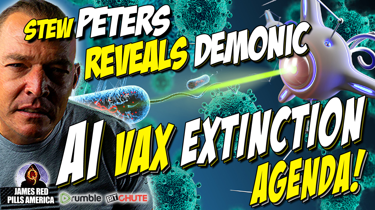 """Absolutely Brilliant Stew Peters Interview """"That Will Shake The Globe!"""" True Enemies Of Humanity Are Exposed!  Must See Video!"""