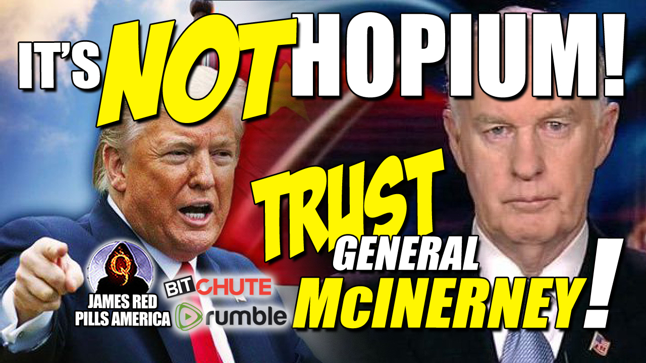 "It's Not Hopium!!""  Must See!  NatSec Expert Mary Fanning's Latest Epic Interview: Trust McInerney's Intel!"