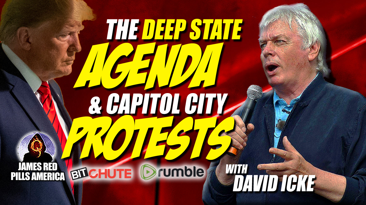 Epically Delicious!  Truth About The Deep State Agenda & The Capitol Protests - Must See New David Icke Interview!