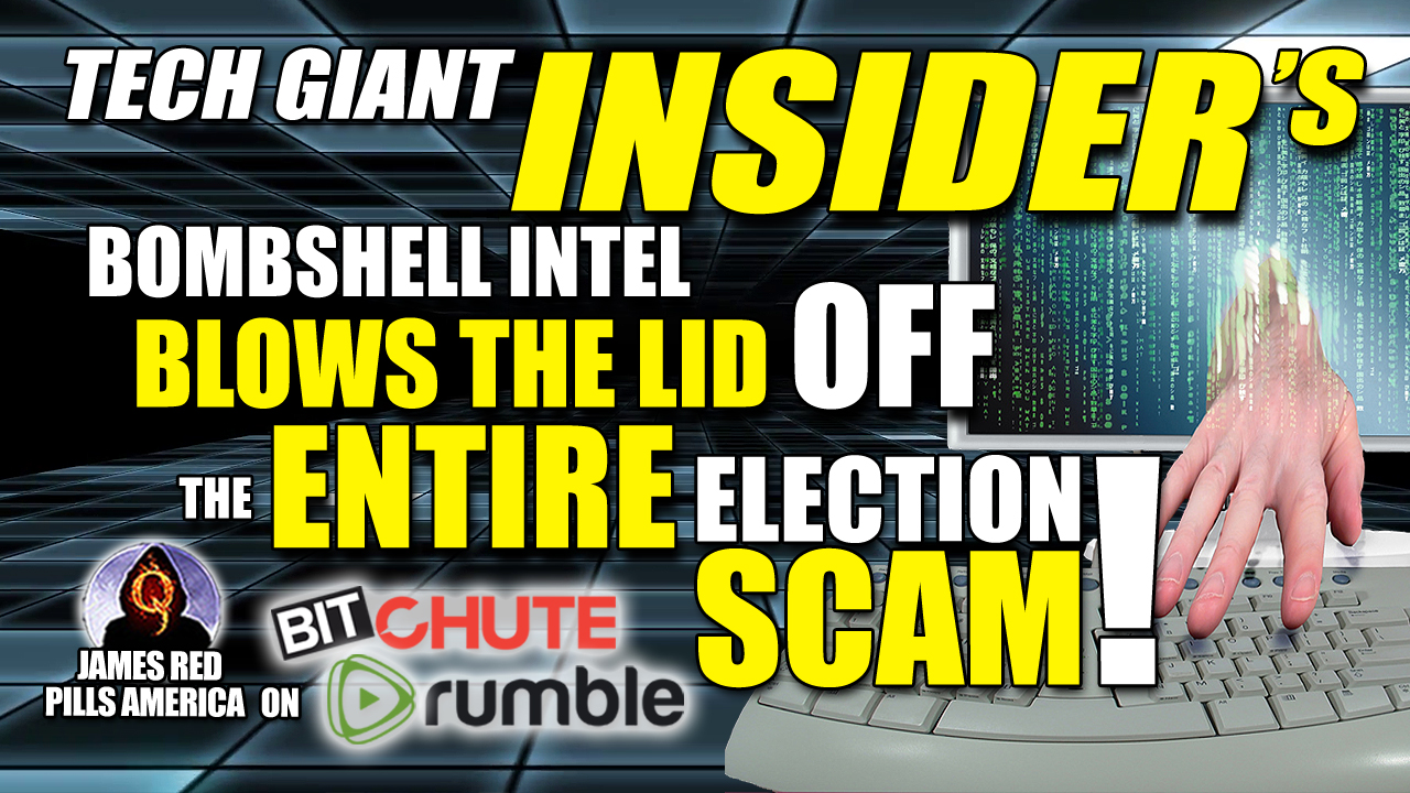 Must See New Intel! This Tech-Giant Insider's Bombshell Intel Blows the Democrats' Election Fraud Wide Open!