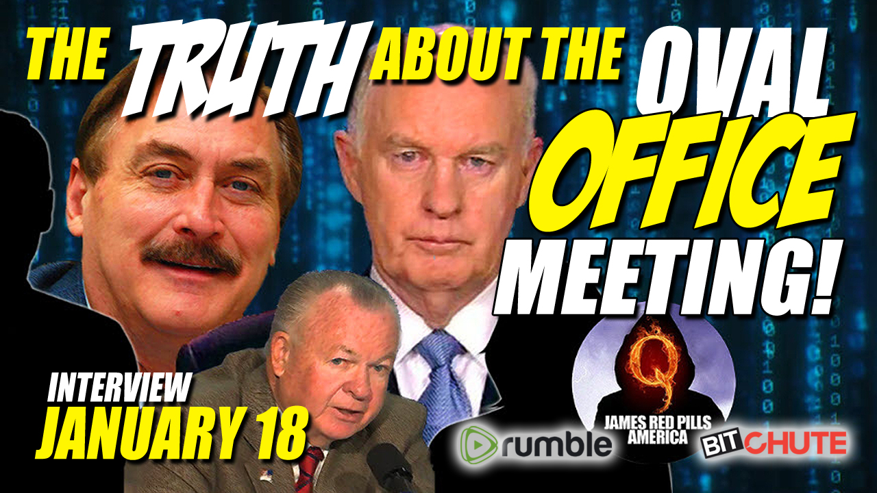 Breaking! Truth About Oval Office Mtg! Lindell, McInerney, Fanning, Jones, Vallely, Fanning & Boom!