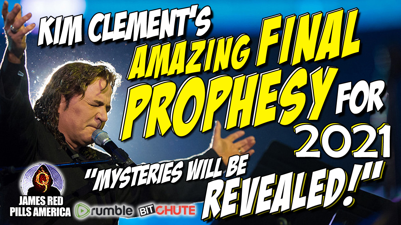 Kim Clement's Amazing Final Prophesy for 2021: Shocking Exposure Coming to Democrats & Republicans & Evil Nation States - Must See Prophesies!