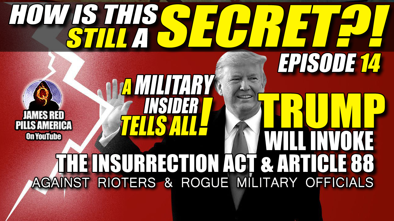 Military Insider Bombshell! Trump *Will Invoke* The Insurrection Act & Article 88 To Stop TWO Coming Coup Attempts! How Is This Still Secret?!  Ep 14
