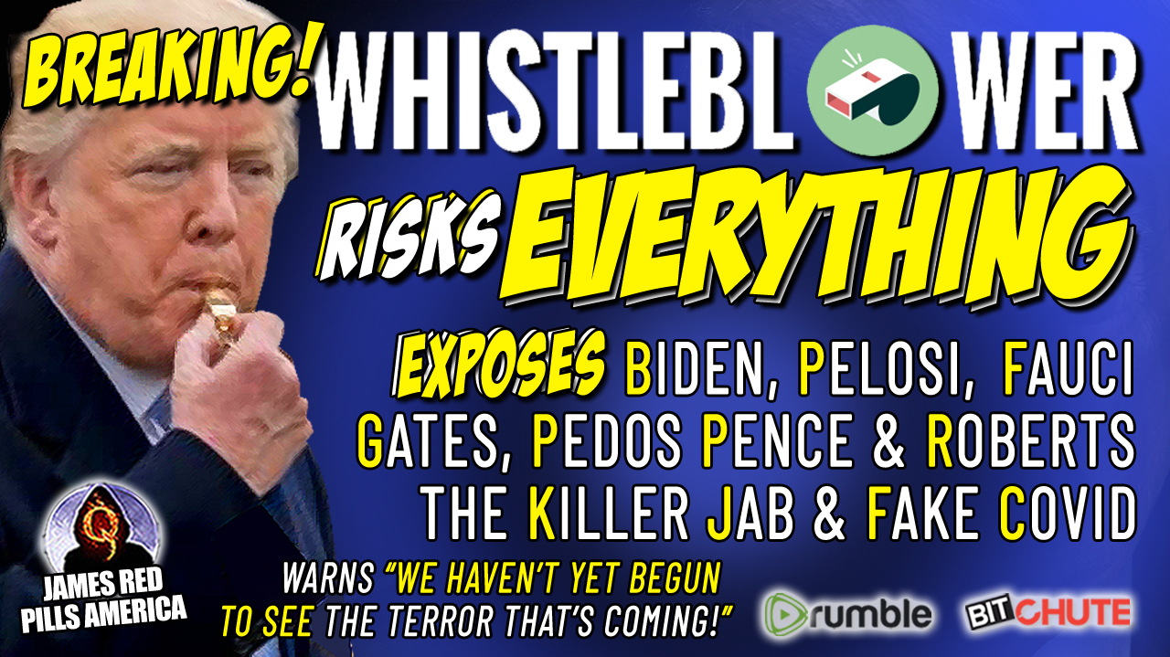 """How Is He Still Alive?! Whistleblower Risks It All To Expose Biden, Pelosi, Pedo Pence & Roberts, Killer Jab, Fauci, Gates & More!  Warns """"We Have Not Yet Begun To See The Terror Coming!""""  Must Video!"""