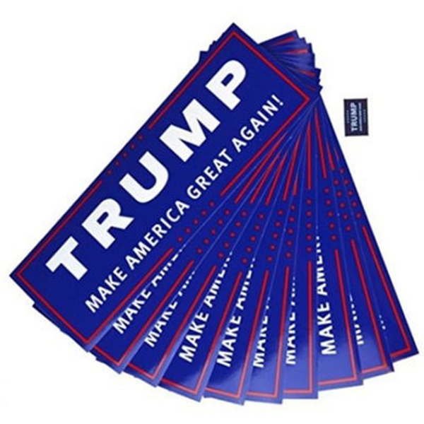 Free Trump Bumper Stickers